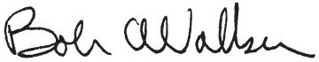 Bob Walker's Signature