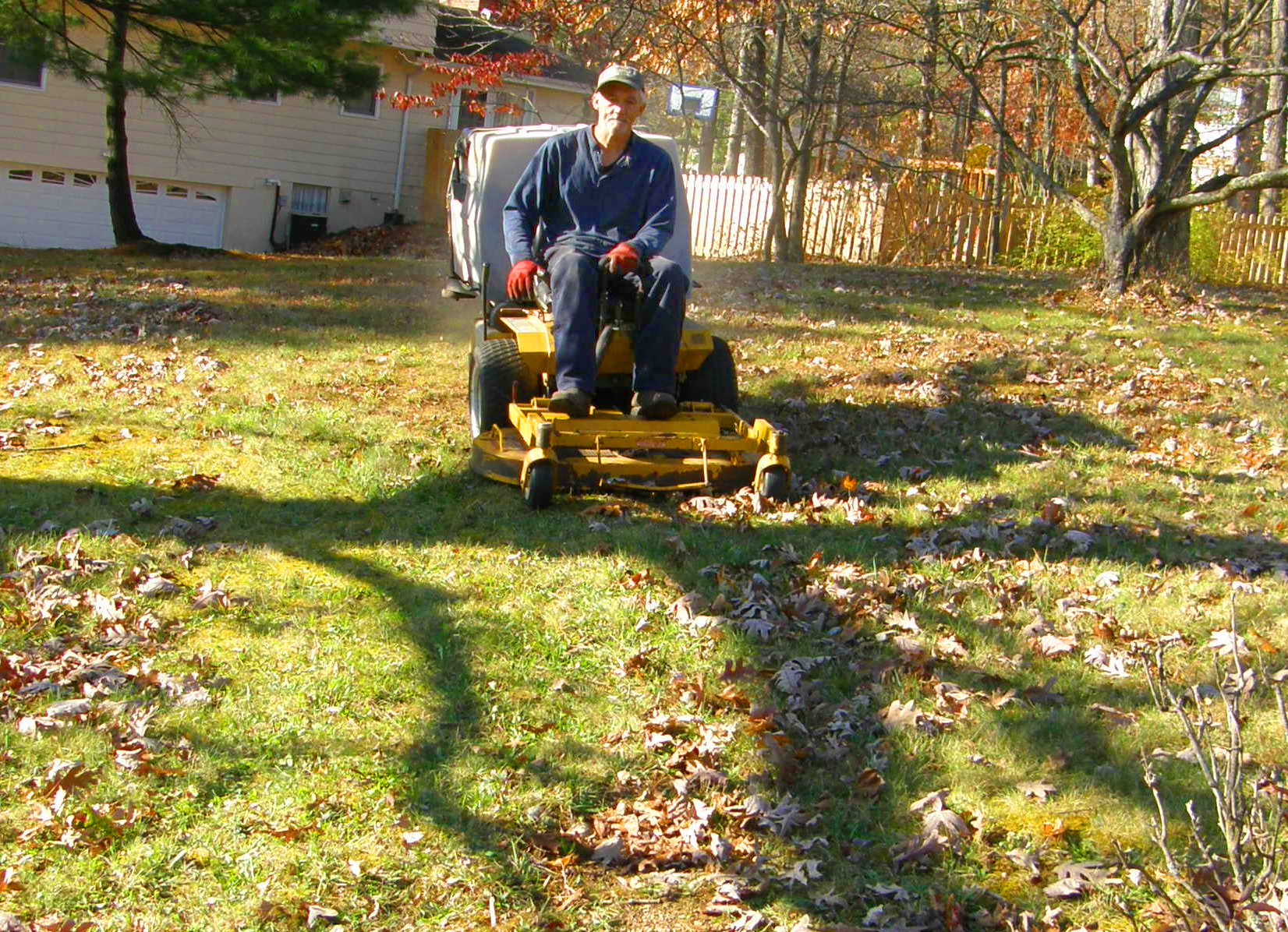 The maneuverability of the Walker Mower