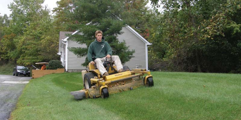young_mowing