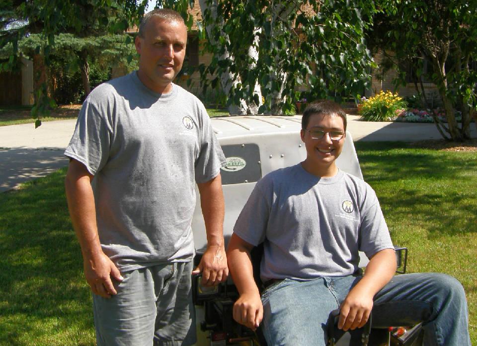 Ray and Brady Amundson