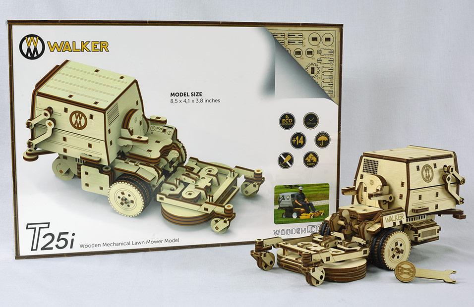 T25i Wooden Mower Model
